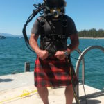 One of our divers is Scottish